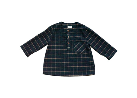 Ethan Shirt, Green Check