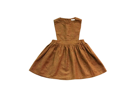 Sophie Dress, Orange Brown
