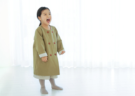 Trench Coat, Olive