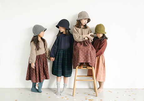 Kids Wool Hat (3 color)